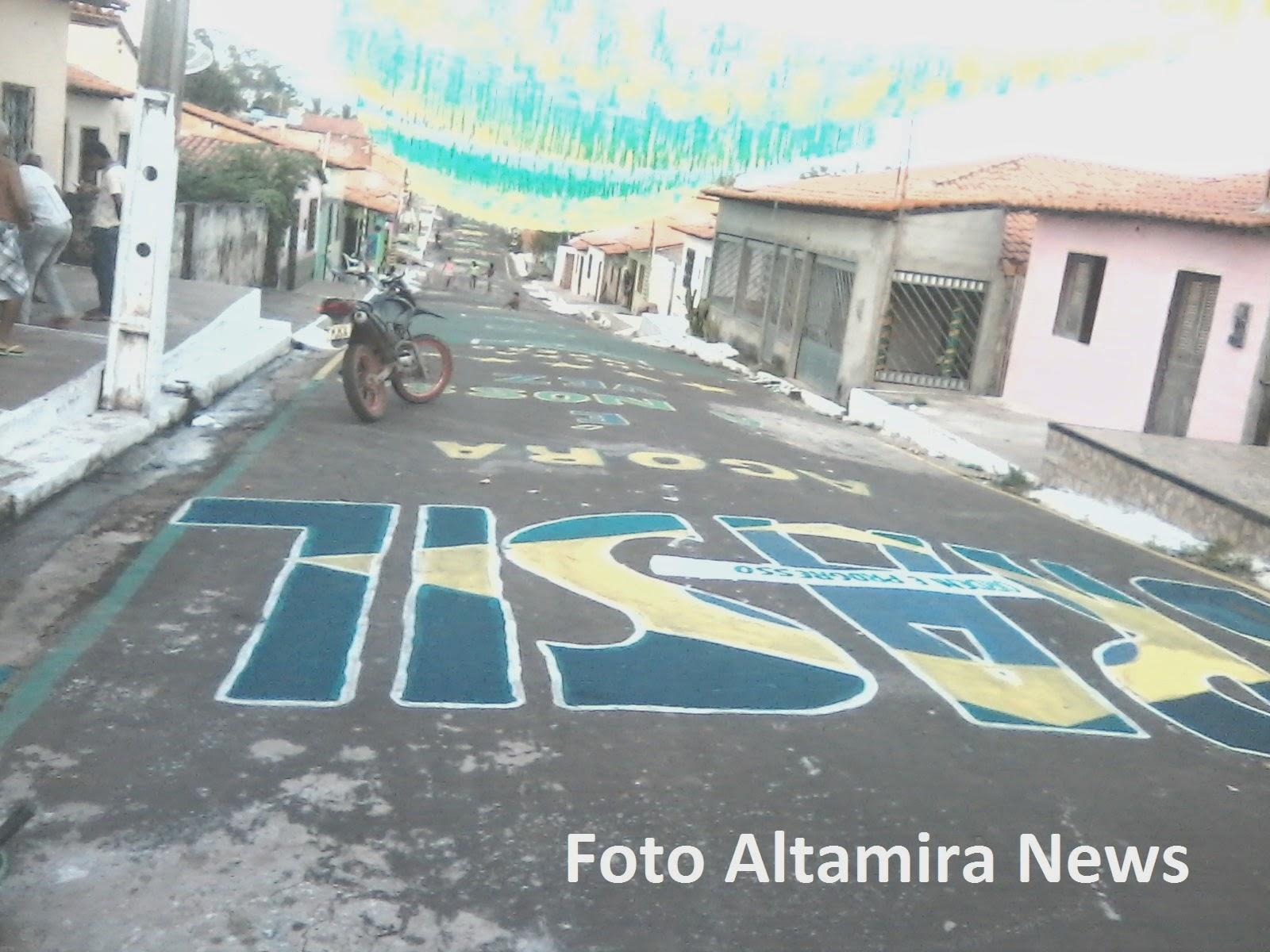 Ruas de Vitorino Freire-ma