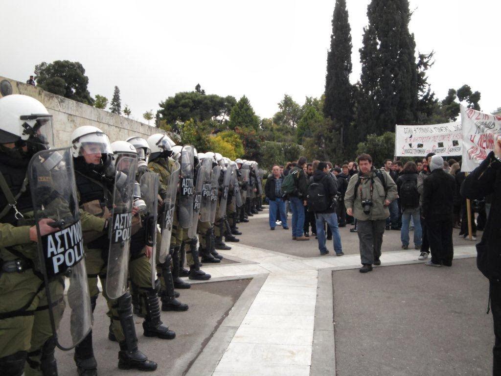 Το νέο τηλέφωνο της Ομάδας Νομικής Υποστήριξης και νομικές συμβουλές για διαδηλωτές