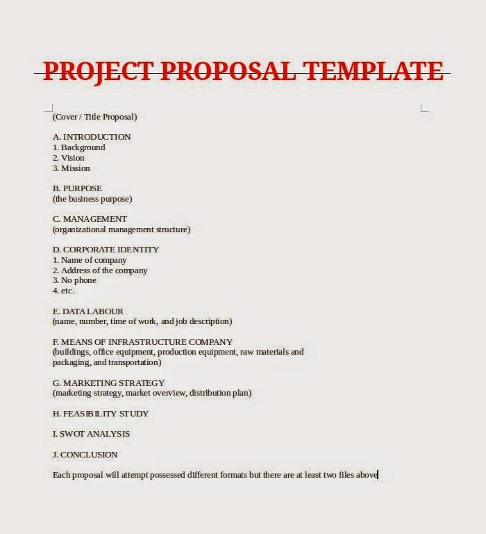 Sample Phd Research Proposal  Business Project Proposal Template