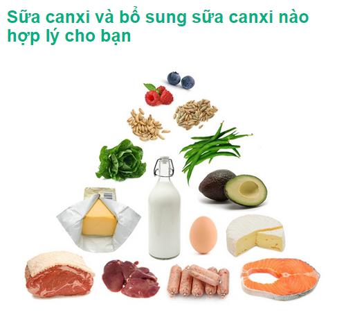 Sữa canxi và bổ sung sữa canxi nào hợp lý cho bạn