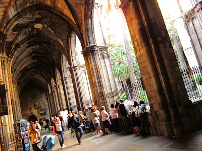 Gothic Cloister of Barcelona Cathedral