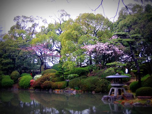Nishinomaru Garden in  Japan