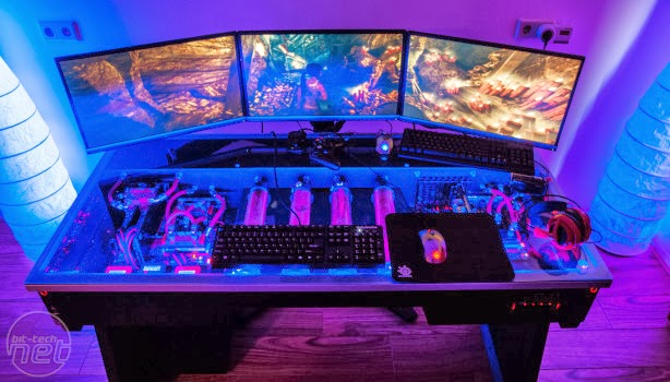pc setup mod bath shop room and gaming tour endearing desk alluring youtube my