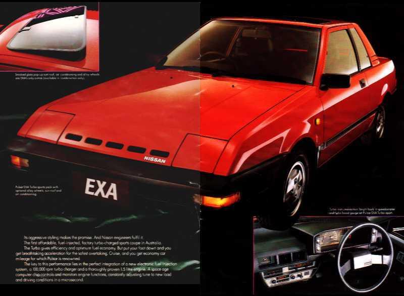 82 86 1st generation nissan pulsar nx exa n12. Black Bedroom Furniture Sets. Home Design Ideas