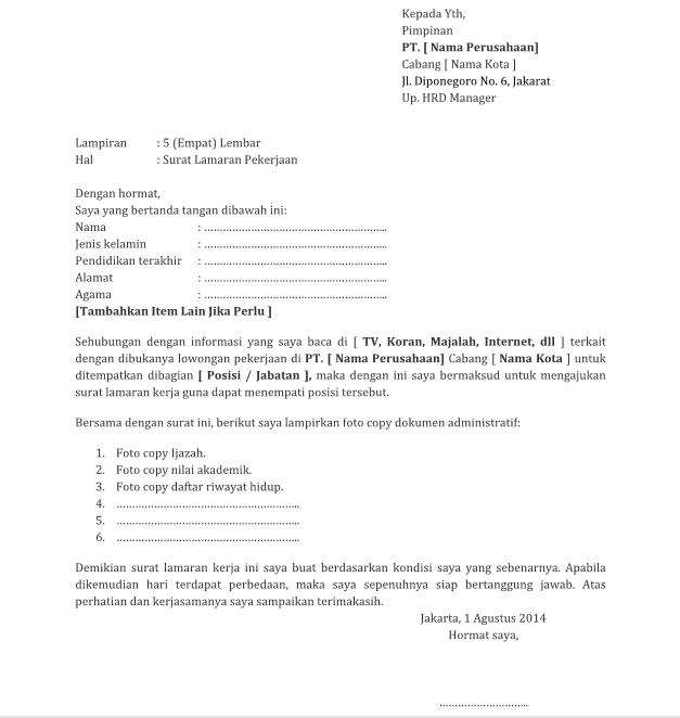 contoh resume microsoft word lengkap
