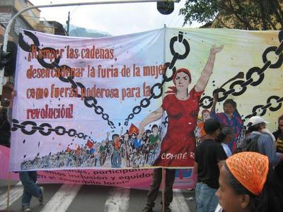 DECLARACION DE LA UNION OBRERA COMUNISTA (MLM) SOBRE LA SITUACION Y EMANCIPACION DE LA MUJER Imagen1