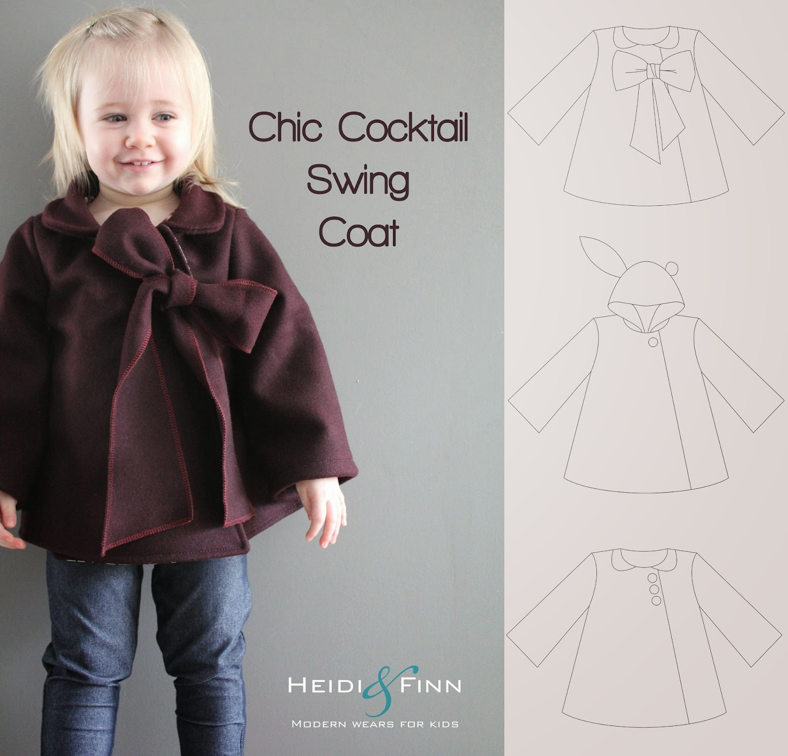 Heidiandfinn modern wears for kids new release the new chic httpcraftsypatternsewingclothing jeuxipadfo Choice Image