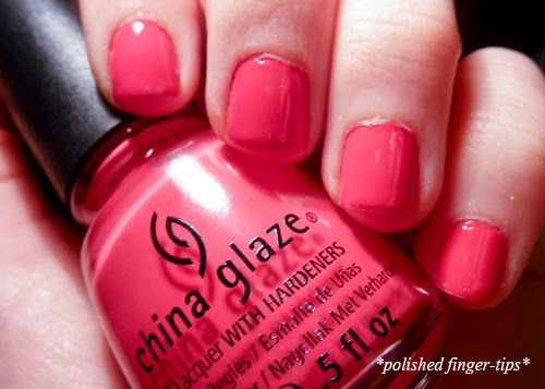 China Glaze Heli-Yum - Artificial Light