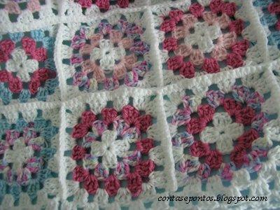 Granny squares manta