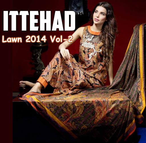 Ittehad Lawn 2014 Vol-2