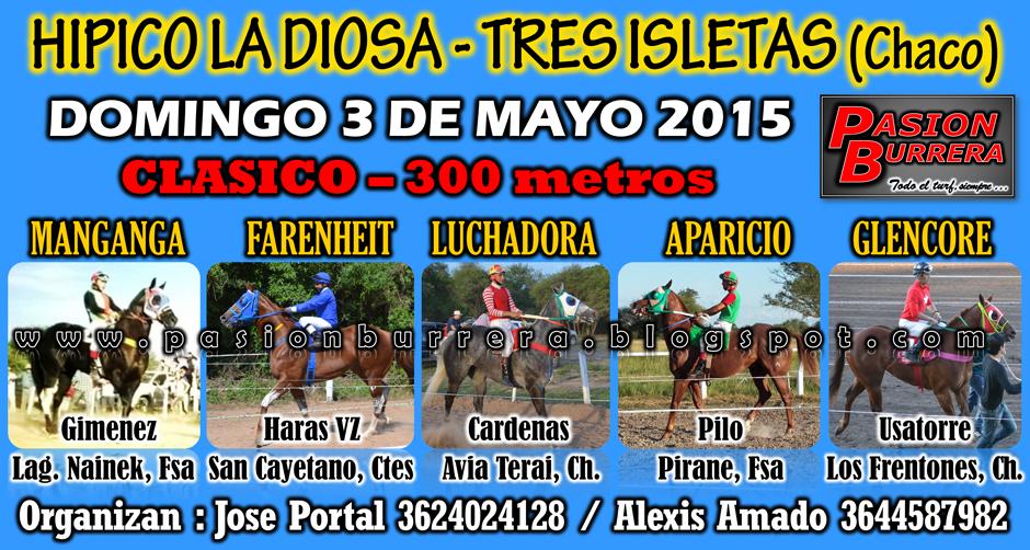 TRES ISLETAS - 300 METROS