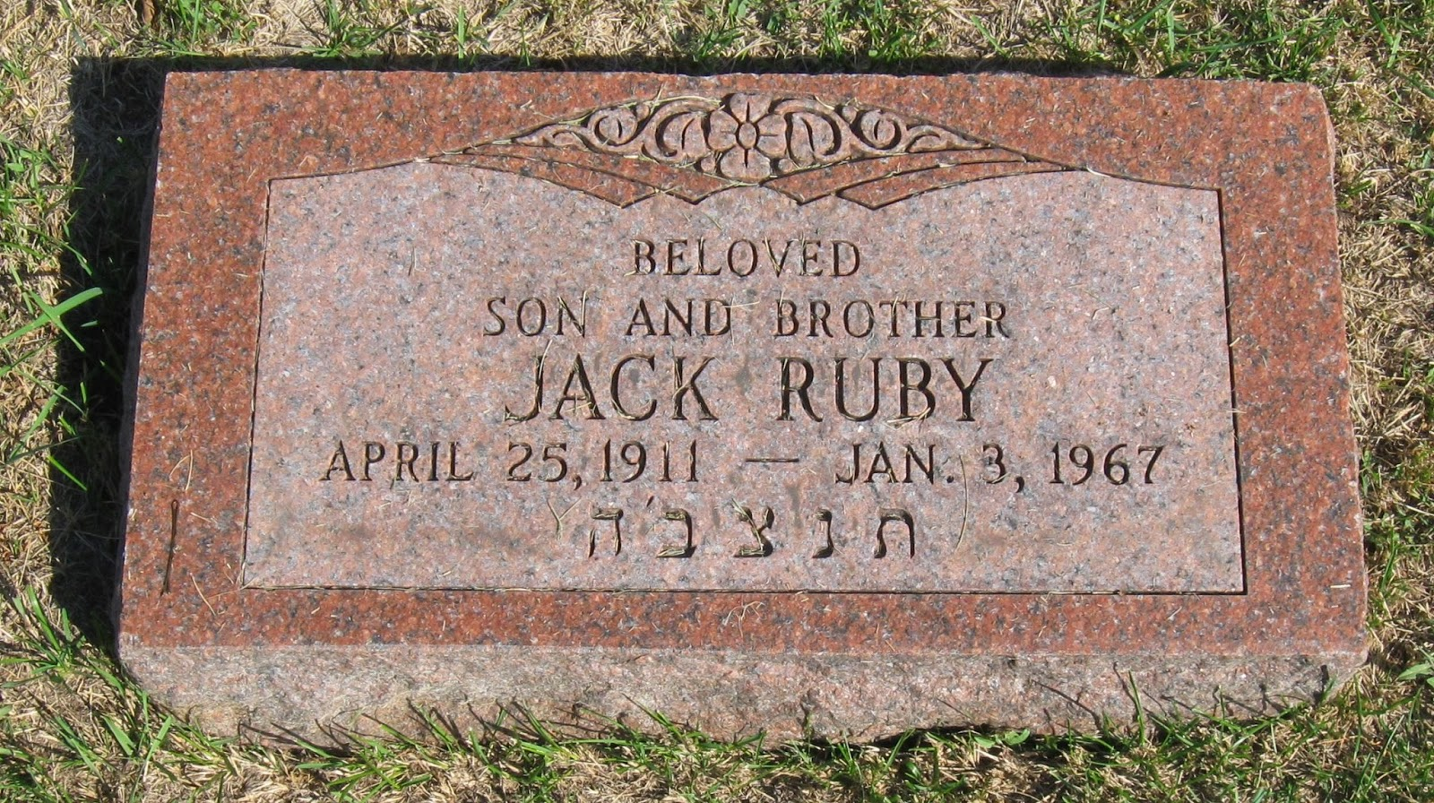 Image result for jack ruby burial site