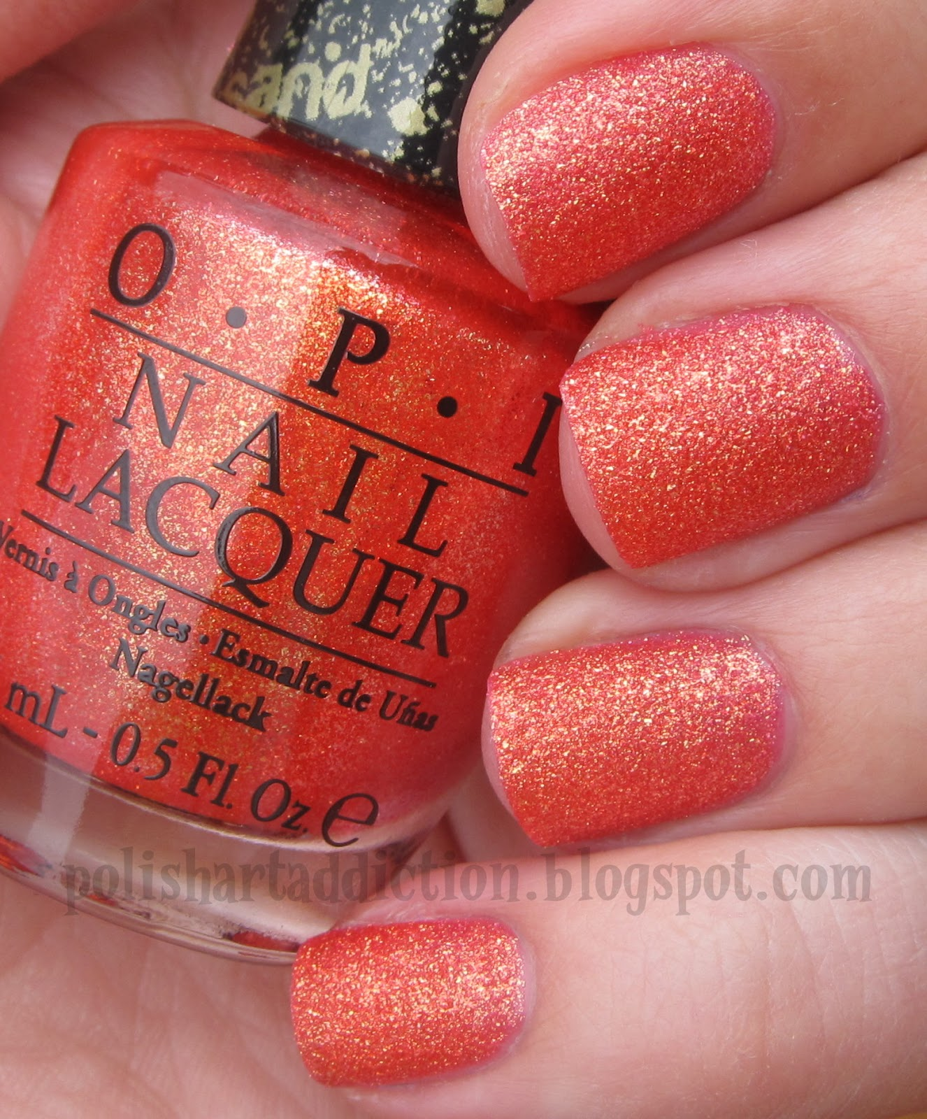 OPI Liquid Sands - Jinx & Honey Ryder