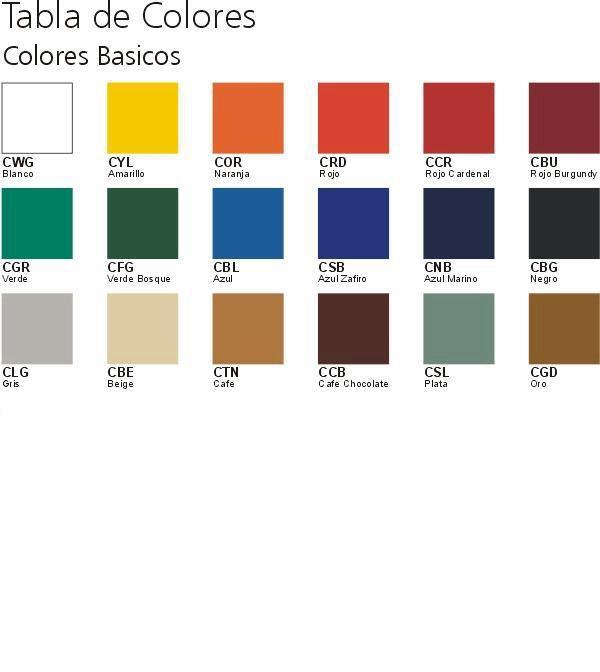 Herrer a servi lock gama de colores - Colores para pintar una entrada ...