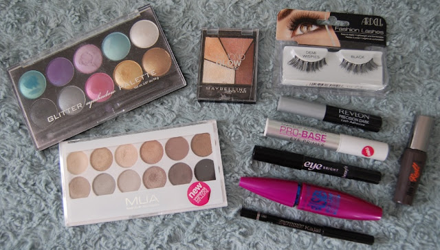Holiday eye makeup items