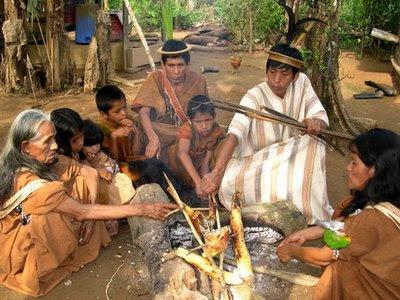 A tela da reflex o comunidades indigenas criticam o plano for Cocinar para 9 personas