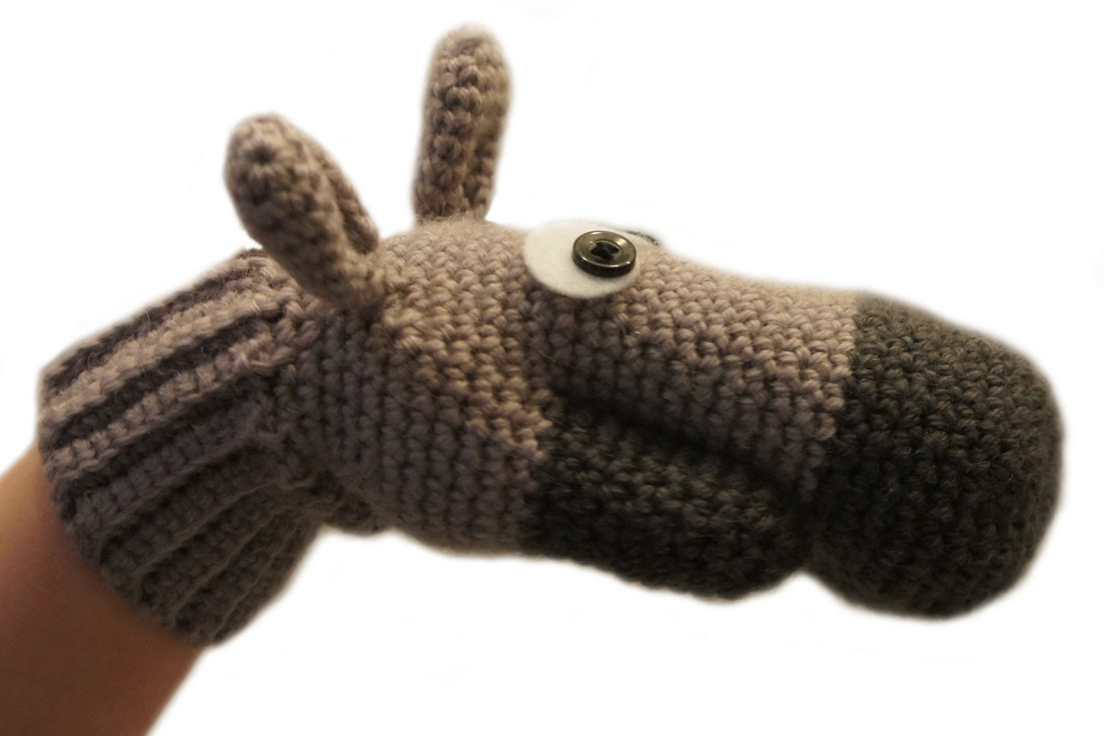 knot•sew•cute design shop: new crochet pattern - donkey mitts by ...