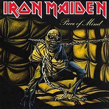 IRON MAIDEN- Piece of Mind  album