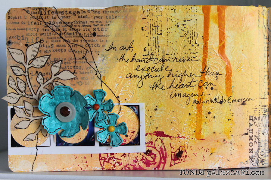 Art Journal Pages Ideas to my Art Journal Page