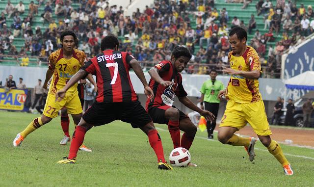 Sriwijaya FC vs Persipura 27 Mei 2012