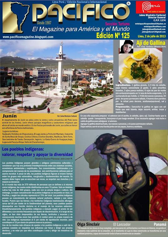 Revista Pacífico Nº 125 Turismo