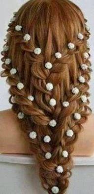 Model Rambut Untuk Pesta Modern 2015 Berkepang 4