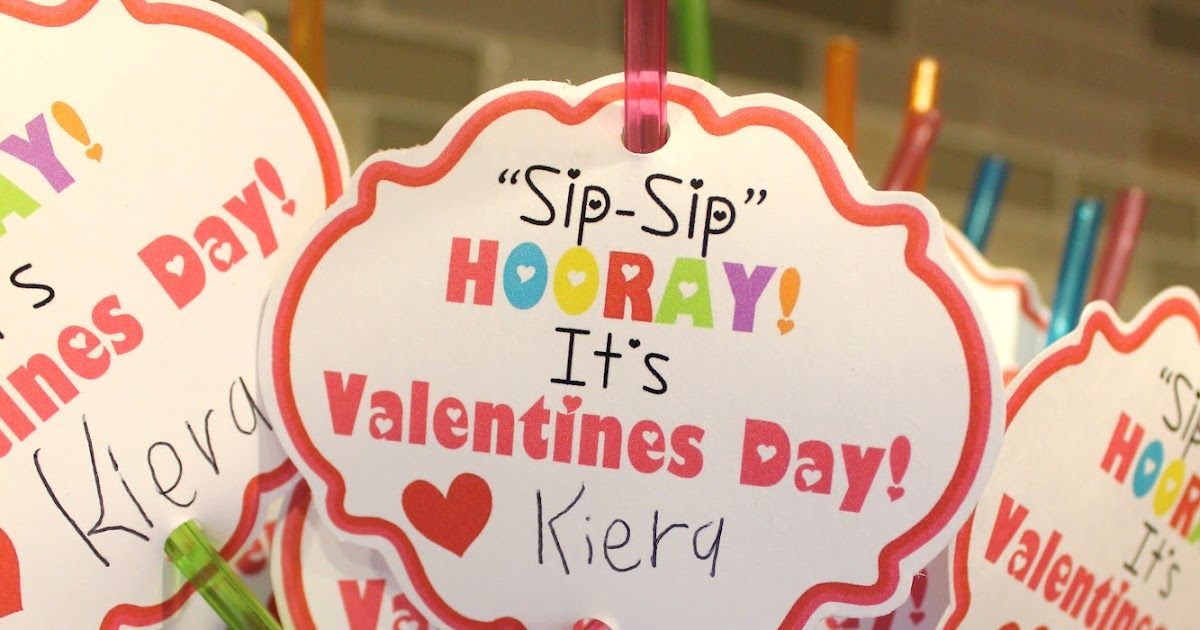 photo regarding Sip Sip Hooray Printable named Kinzies Kreations: Valentines 2013