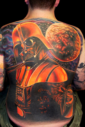 darth vader tattoo. Amazing Darth Vader tattoo