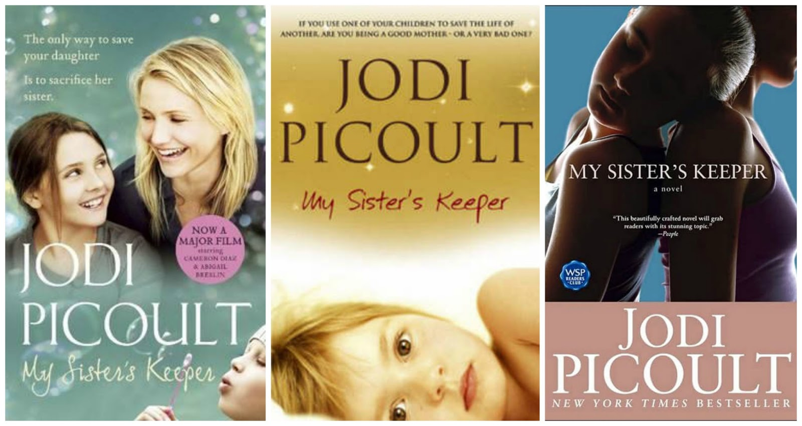choosing sides in my sisters keeper a novel by jodi picoult Jodi picoult did such a mistake in her book for instance, the main character anna is created as a teenage girl who was conceived as a spare-part manufacturer for her older sister she feels that her parents dont see her as a child but as her sisters keeper.