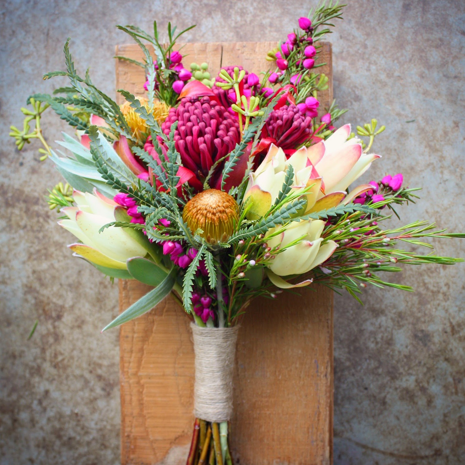 Swallows Nest Farm Native Spring Wedding Flowers