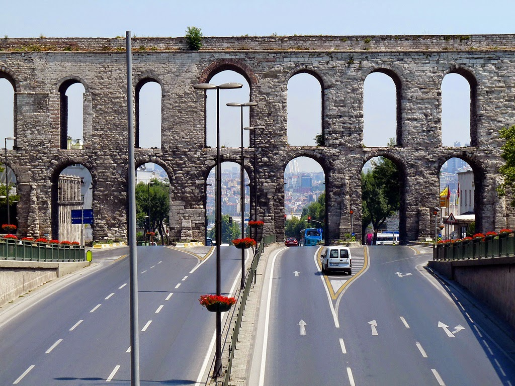 Rome Vocabulary Pics Photos Bridge Parts Diagram Jobspapa This Roman Aqueduct In Istanbul Turkey Still Stands Despite The Creation Of Modern Roads Directly Under It