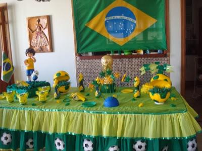 Dicas de Decoração para Copa 2014
