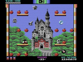 La nueva versión de Bomb Jack para Commodore 64 te dejará con la boca abierta
