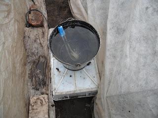 Подогрев воды для полива