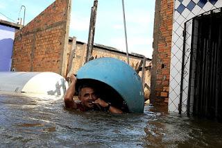 Enchente, inundação