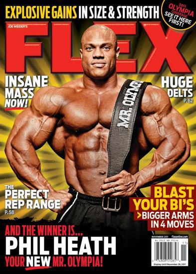 Phil Heath Flex Magazine