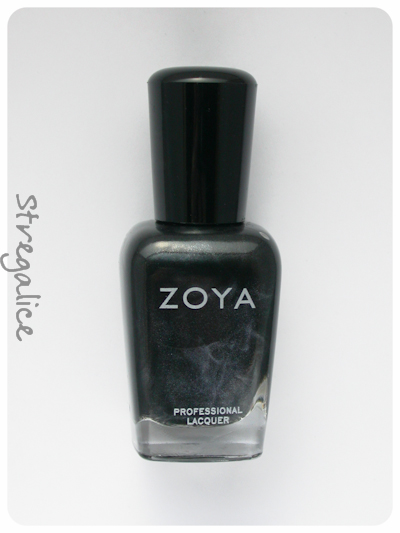 Zoya Raven black bottle