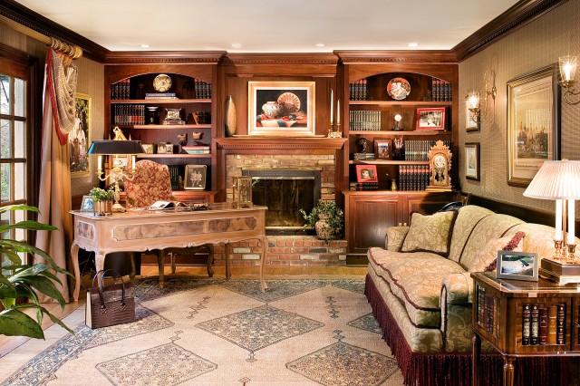 Interior exterior design ideas classic office and library - Home office library design ideas ...