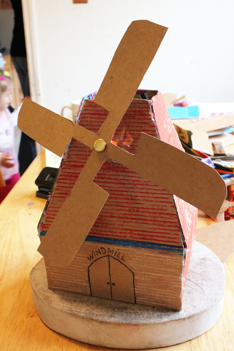 Little bright sparks national mills weekend for Cardboard for projects