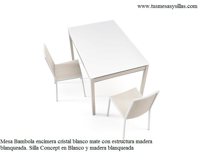 Mesas y sillas de cocina y comedor extensibles cancio for Mesas y sillas de cocina comedor
