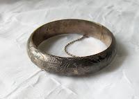 Siam Silver Bracelet Vintage3