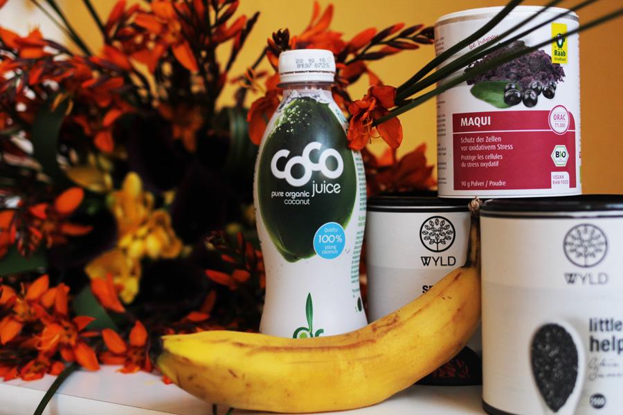 chiasamen kokoswasser banane