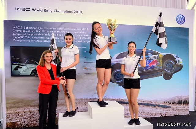 Did you know Volkswagen won the World Rally Championship 2013 in their first attempt?