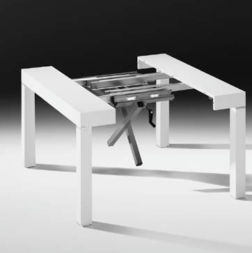 P190 archives non solo mobili cucina soggiorno e camera for Tavoli allungabili riflessi