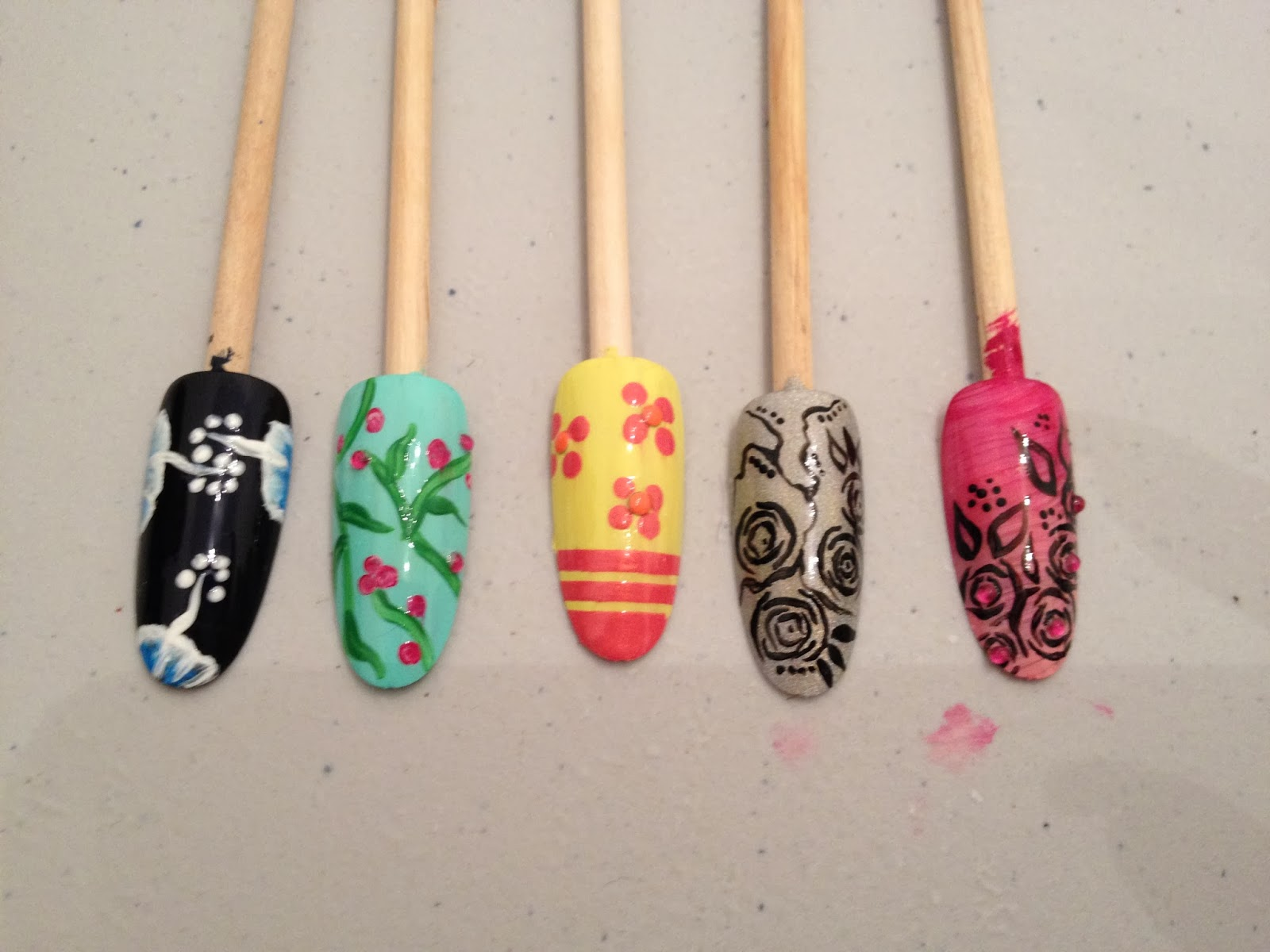 Ateliers nail art Décembre et Janvier22
