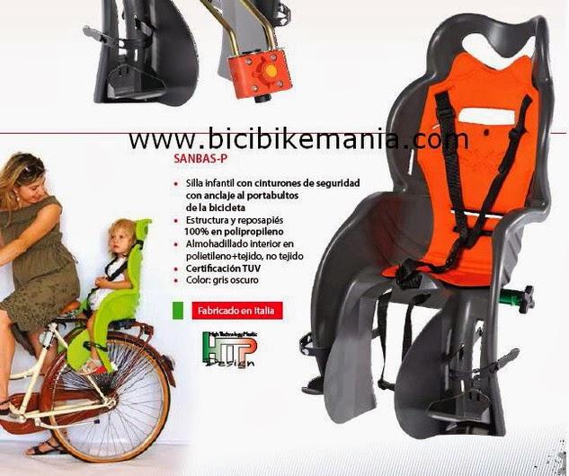 Bicicletas bikemania silla porta bebe tkx 2014 - Silla portabebes bicicleta ...