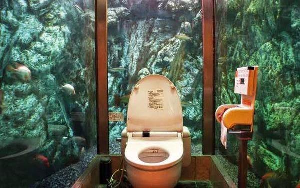 Suyun Altındaki Tuvalet