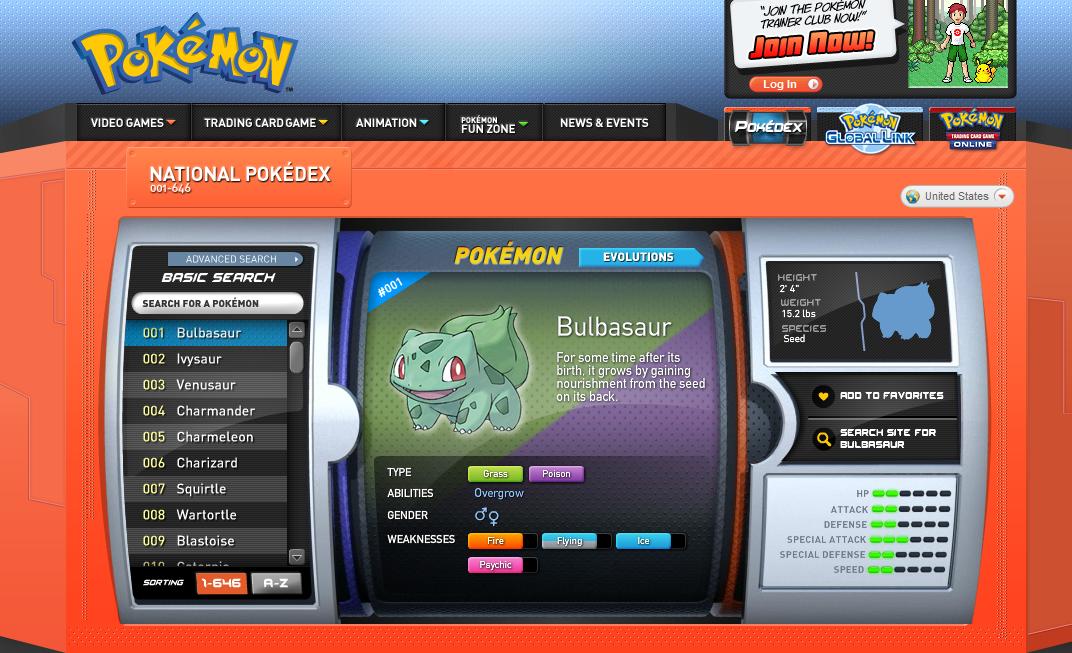 Slidercp 39 S Pokemon Website New Pokemon Website Pokedex