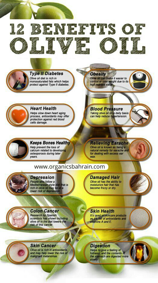 12 benefit of olive oil