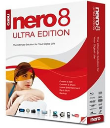 Download   Nero 8 Ultra Edition 8.3.2.1 PT BR + KeyGen